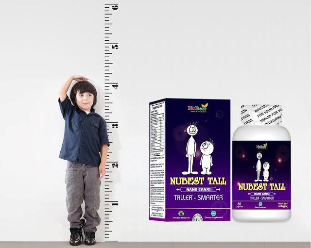 NuBest Tall hỗ trợ trẻ tăng chiều cao đáng kể sau một thời gian sử dụng. (Nguồn: NuBest Việt Nam)