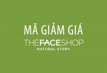 Photo of Mã giảm giá The Face Shop tháng 12/2020 – Khuyến mãi mới nhất